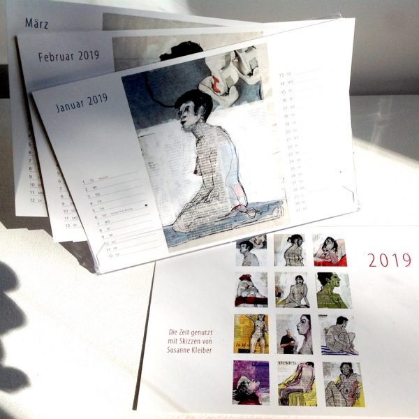 Kalenderbox 2019 mit 13 Postkartenmotiven