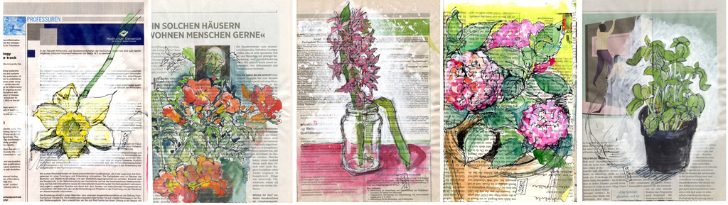 Blumen, Blüten im Frühling und Sommer