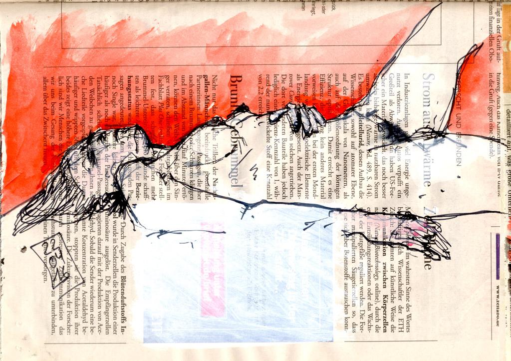 Brunft Gebrummel – Skizze