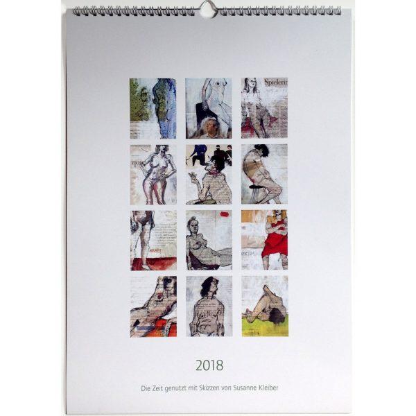 Kalender 2018, Wandkalender mit Wire-O-Bindung